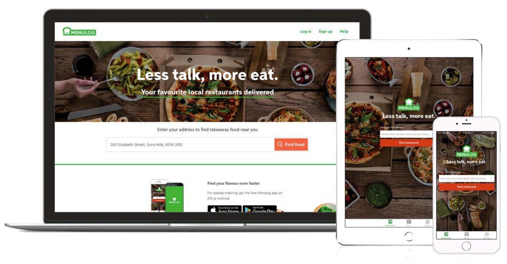 Food Delivery App Menulog